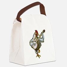 Banjo Chicken Canvas Lunch Bag