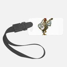 Banjo Chicken Luggage Tag