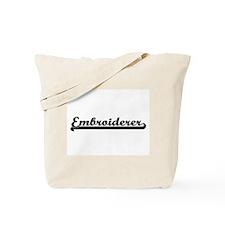 Embroiderer Artistic Job Design Tote Bag