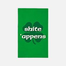 SHITE APPENS Area Rug