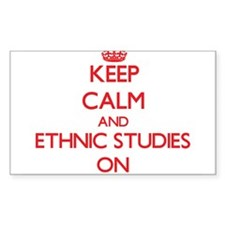 Keep Calm and Ethnic Studies ON Decal