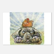 The Chicken and the Dog Postcards (Package of 8)