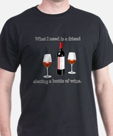 Wine and Friends T-Shirt
