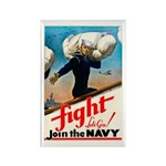 Join the Navy Rectangle Magnet (10 pack)