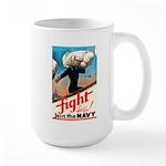 Join the Navy Large Mug