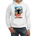 Join the Navy (Front) Hooded Sweatshirt