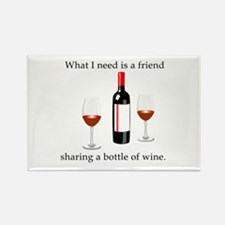 Wine and Friends Magnets