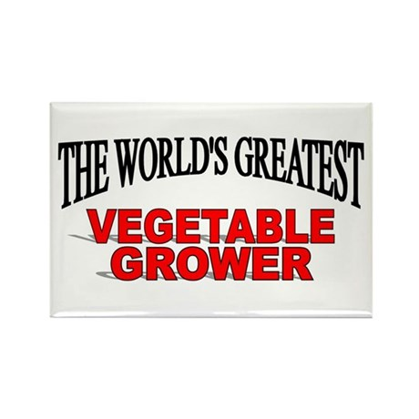 """The World's Greatest Vegetable Grower"" Rectangle"