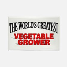 """""""The World's Greatest Vegetable Grower"""" Rectangle"""