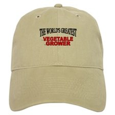 """""""The World's Greatest Vegetable Grower"""" Baseball Cap"""
