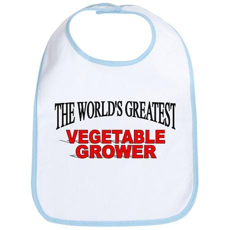 """The World's Greatest Vegetable Grower"" Bib"