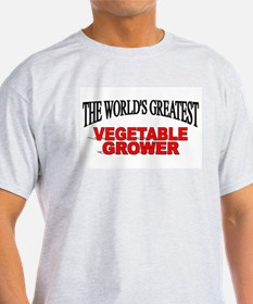 """The World's Greatest Vegetable Grower"" T-Shirt"