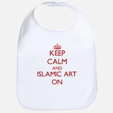 Keep Calm and Islamic Art ON Bib