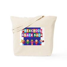 Preschool Snack Tote Bag