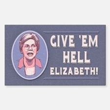 Give 'Em Hell, Liz Decal