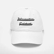 Information Assistant Artistic Job Design Baseball Baseball Cap