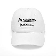 Information Assistant Artistic Job Design Baseball Cap
