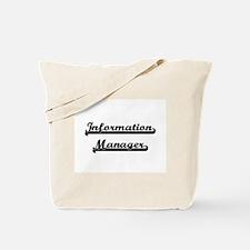 Information Manager Artistic Job Design Tote Bag