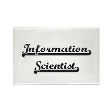 Information Scientist Artistic Job Design Magnets