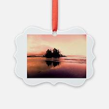 Red Long Beach Ornament