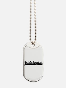 Iridologist Artistic Job Design Dog Tags