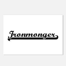 Ironmonger Artistic Job D Postcards (Package of 8)
