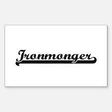 Ironmonger Artistic Job Design Decal