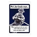 Soldier On God's Side Postcards (Package of 8)