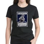 Soldier On God's Side (Front) Women's Dark T-Shirt