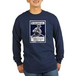 Soldier On God's Side (Front) Long Sleeve Dark T-S