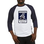 Soldier On God's Side (Front) Baseball Jersey