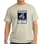 Soldier On God's Side (Front) Light T-Shirt