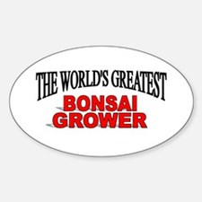 """The World's Greatest Bonsai Grower"" Decal"