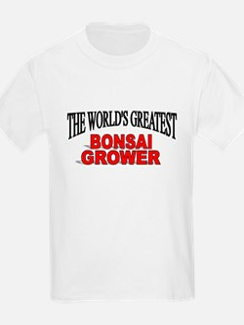 """""""The World's Greatest Bonsai Grower"""" T-Shirt"""