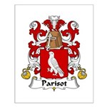 Parisot Family Crest     Small Poster