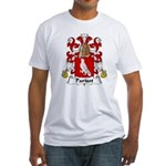 Parisot Family Crest     Fitted T-Shirt