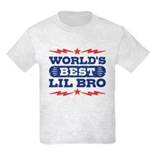 World's Best Lil Bro T-Shirt