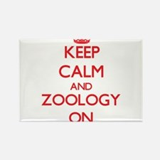 Keep Calm and Zoology ON Magnets