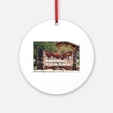 Grand Canyon North Rim Visitor Ce Ornament (Round)
