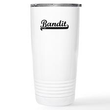 Bandit Artistic Job Des Travel Coffee Mug
