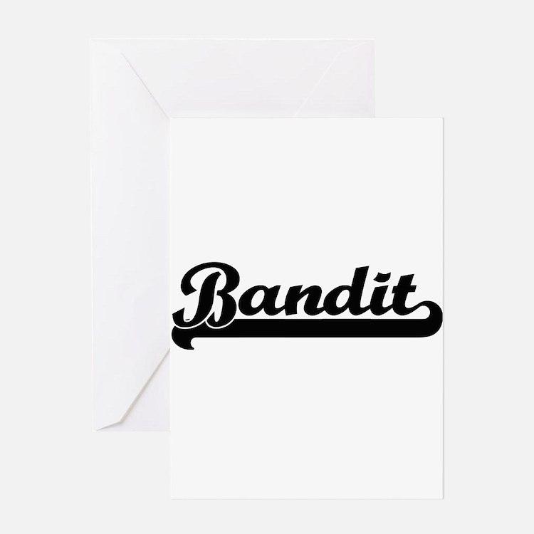 Bandit Artistic Job Design Greeting Cards