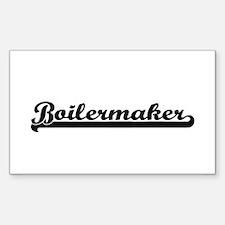 Boilermaker Artistic Job Design Decal