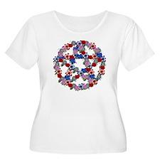 Flower Pentag T-Shirt
