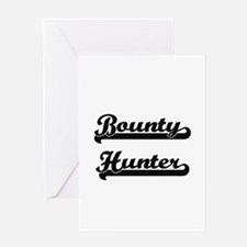 Bounty Hunter Artistic Job Design Greeting Cards