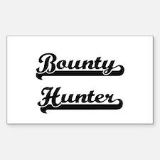 Bounty Hunter Artistic Job Design Decal
