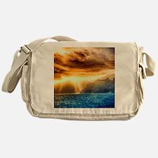 Bora Bora Island Messenger Bag