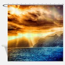 Bora Bora Island Shower Curtain