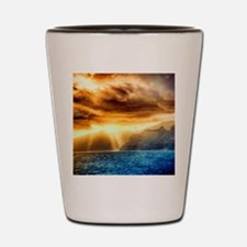 Bora Bora Island Shot Glass