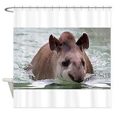 Tapir 002 Shower Curtain