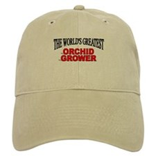 """The World's Greatest Orchid Grower"" Baseball Cap"